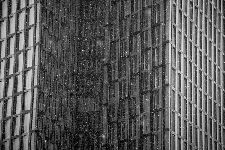 Mr. Snow visited Hamburg again.. Architecture Black & White Black And White Photography Blackandwhite Built Structure Eye4photography  Fortheloveofblackandwhite Geometric Abstraction Geometry Hamburg Hamburger Fassaden How's The Weather Today? Open Edit Photography Reflection Schwarzweiß Snow Taking Photos Tanzende Türme Tower Showcase: January Urban Urban Geometry Window Window Reflections