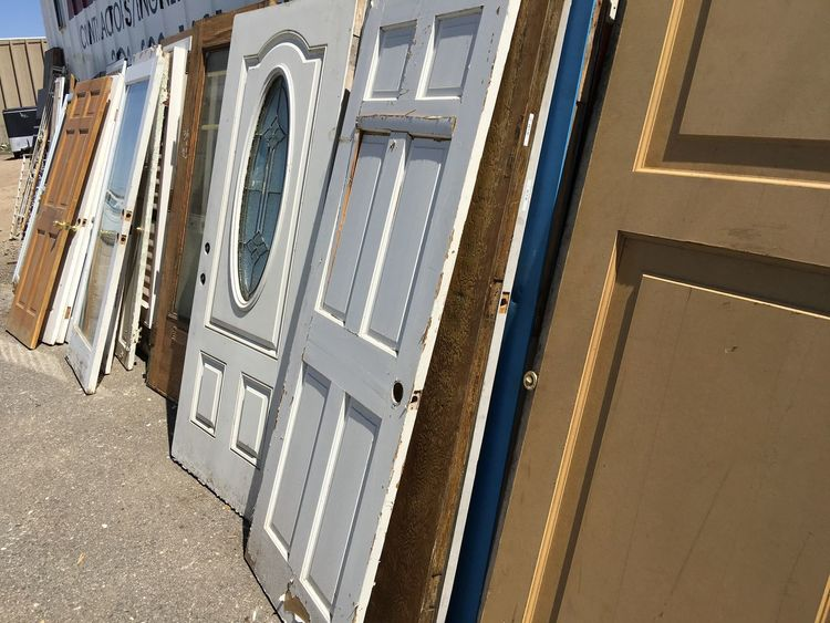 Architecture Building Exterior Built Structure Day Door Doors Mode Of Transport Nautical Vessel No People Old Doors Old Doors, Weathered White, Weathered Brown Edge, Antique Doors Outdoors Transportation Window