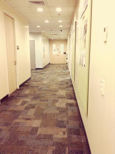 Ghost hallway... Office Account Floor Here 9 Hours A Day Access Cvg Workplace Working Girl