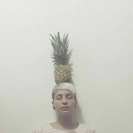 In dreams Dreaming Surrealism Hello World Selfportrait Pineapple Getting Creative