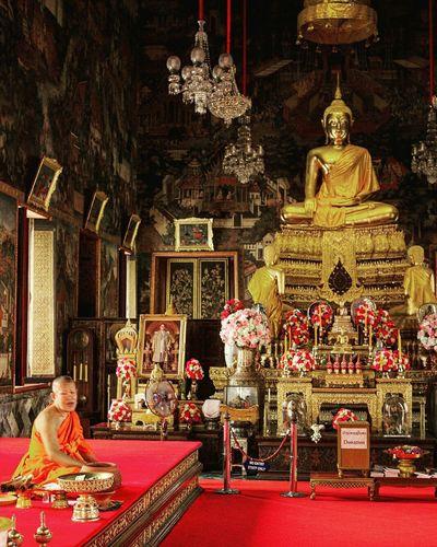 Buddhism Spirituality Statue Watarunbangkok Watarun Bangkok Thailand