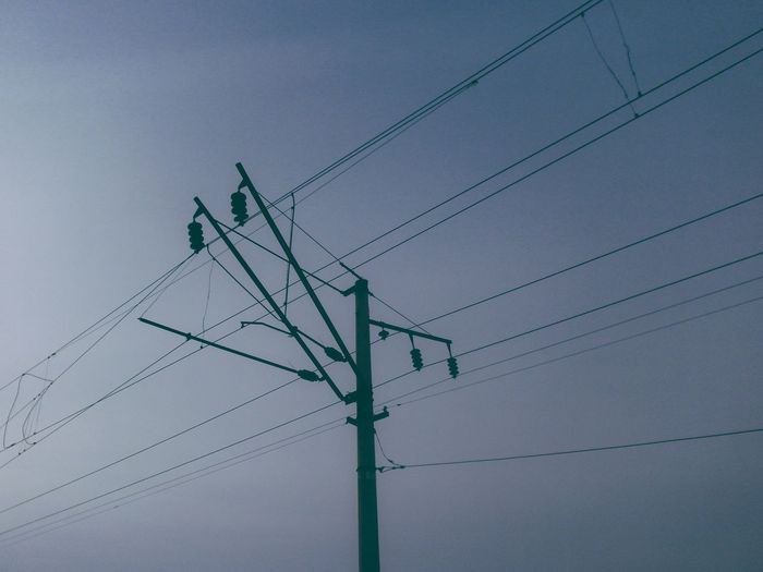 Cable Complexity Connection Dark Day Daylight Electric Pole Electricity  Electricity Pylon Electricity Tower Fuel And Power Generation Lightroom Low Angle View No People Outdoors Power Line  Power Supply Russia Sky Technology Telephone Pole VSCO VSCO Cam Vscocam Vscogood