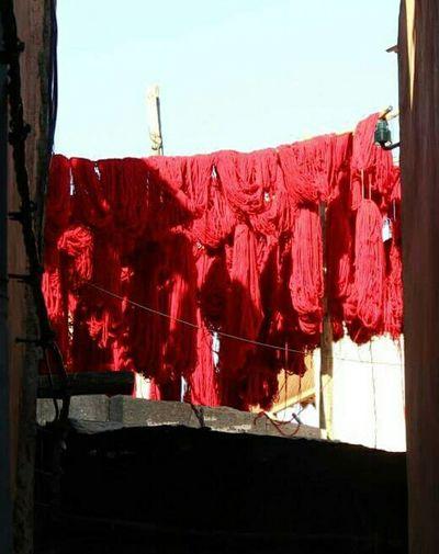Marakesh Red Cloth