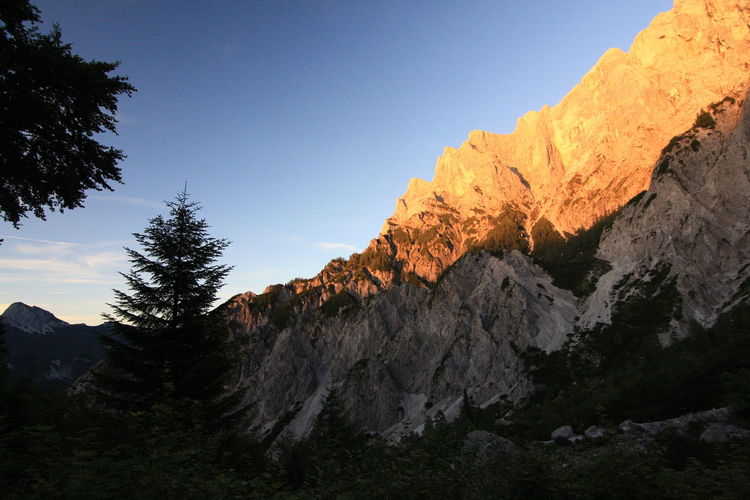 Austria Beauty In Nature Geology Gesäuse Idyllic Landscape Majestic Mountain Mountain Range Nature Nature On Your Doorstep Nature Photography Nature_collection Naturelovers Non-urban Scene Outdoors Remote Rock Formation Rocky Mountains Sunset Sunset_collection Tranquil Scene