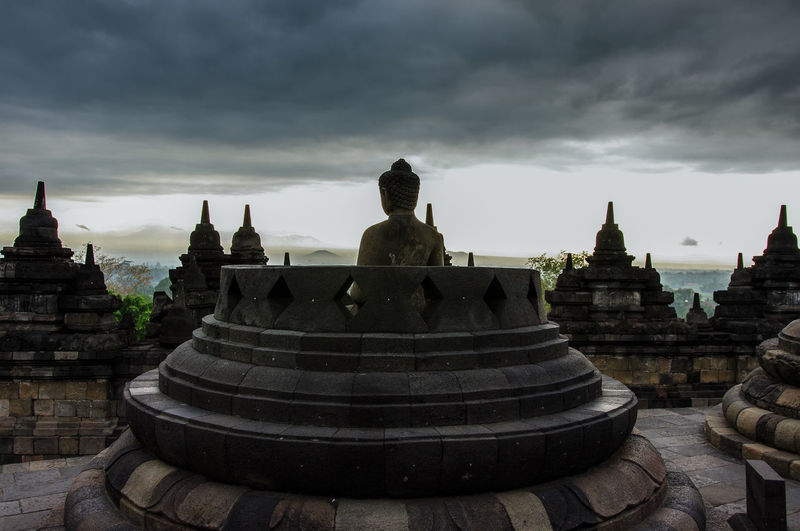 Borobodur ASIA Buddha EyeEm Best Shots INDONESIA Java Travel Photography UNESCO World Heritage Site World Heritage Architecture Borobudur Buddhism Building Exterior Built Structure Cloud - Sky Day Historic History No People Outdoors Religion Sky Spirituality Temple Travel Destinations