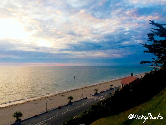 Plage 🌴 Playa Sable Normandy Landscape Photography