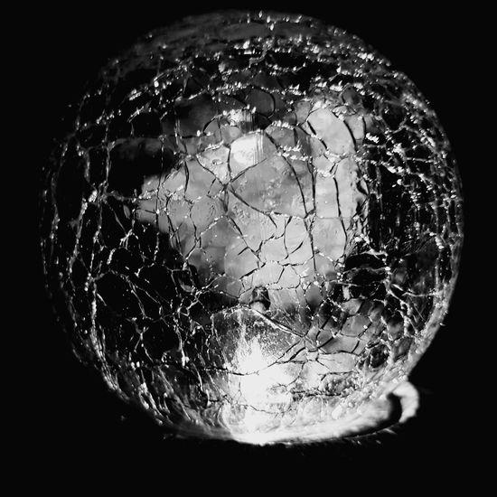 Close-up Single Object Illuminated No People Black Background Shiny Night Globe Cracked S8plus Smartphone Photography S8 Collection S8Photography S8+