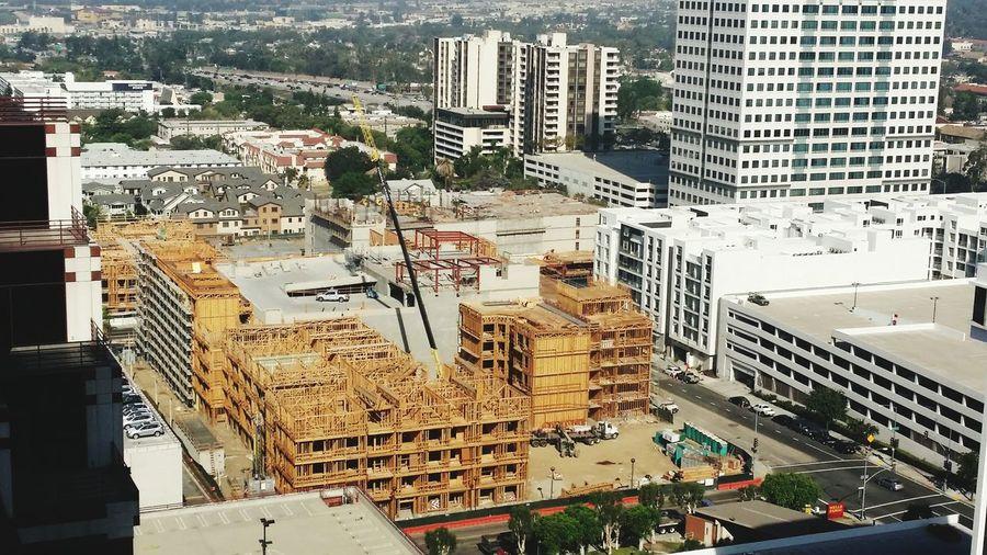 Building Exterior City Construction No People Construction Site Glendale