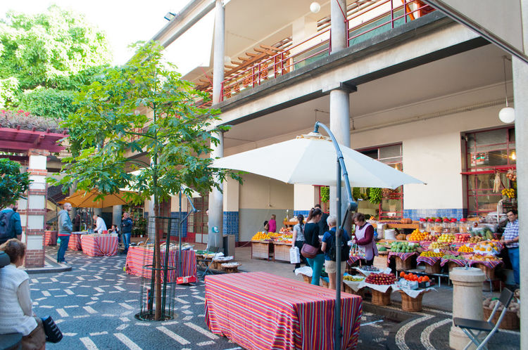Funchal Madeira Madeira Islands, Portugal Travel Photography Turista Architecture Awning Building Exterior Built Structure City Crowd Crucero Frutas Y Verduras Large Group Of People Men Mercadomunicipal Outdoors People Real People Table Travel Destinations Tree Women