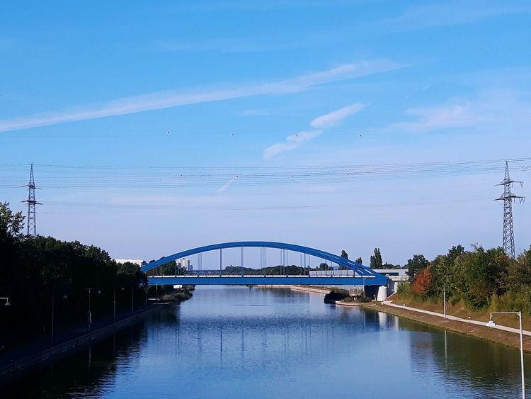 Bridge over calm water Bridge - Man Made Structure Water River Architecture Built Structure Sky Bridge Arch Bridge Bridges Blue Highway Motorway Bridge Motorway Waterfront Calm Outdoors Connection Engineering Transportation Arch Day Tranquil Scene Autobahnbrücke Brücke Fluss Let's Go. Together.