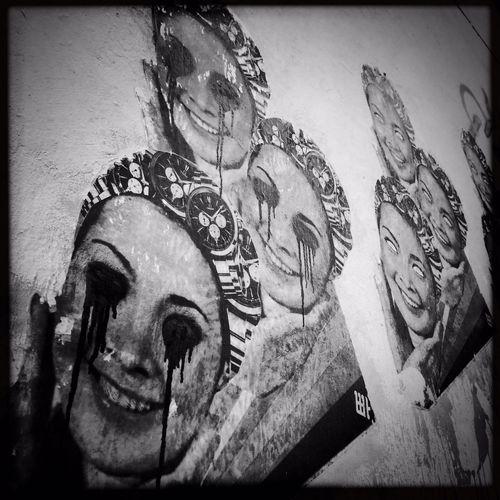 Street Art Monochrome Black & White Black And White Hipstamatic