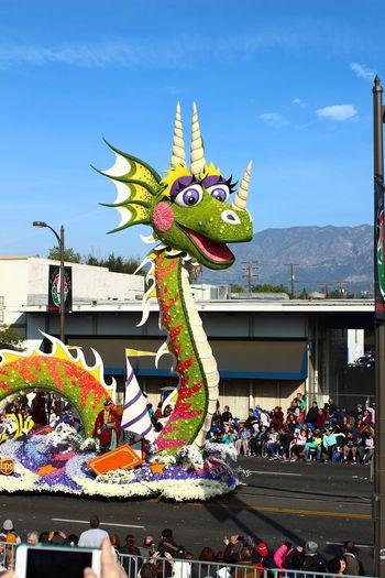 Tournament Of Roses Parade 2018 Dragon