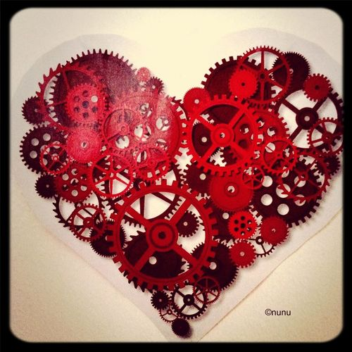 Love Heart Cogs Ticking ❤