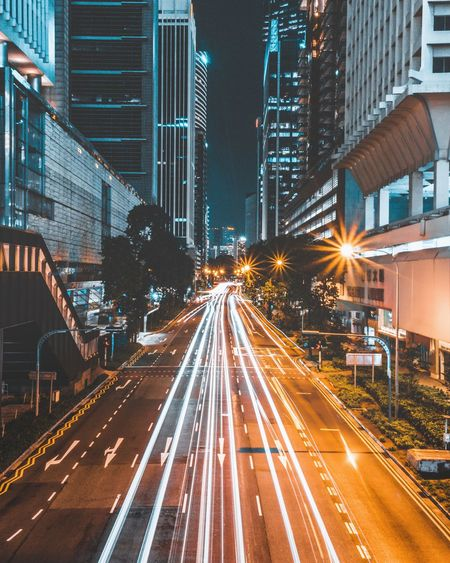 Urban Shots taken by @ on Instagram Illuminated Singapore Light And Shadow Night Architecture Lens Flare Cultures Long Exposure Urban Skyline Nightshot Night Photography Cityline Reflection Lens Ball Beautiful Cool Nice Light Trail Orange Color Blue Instagram Streetphotography Modern Lights Inspiration