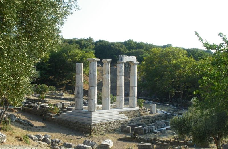 Temple of the Great Gods at Samothraki Ancient Ancient Ruins Ancient Temple Architecture Art Art And Craft Built Structure Column Day Greece Greek History Historical Building Historical Monuments No Edit/no Filter No Filter No People Outdoors Samothraki Temple Temple Of The Great Gods Landscapes With WhiteWall