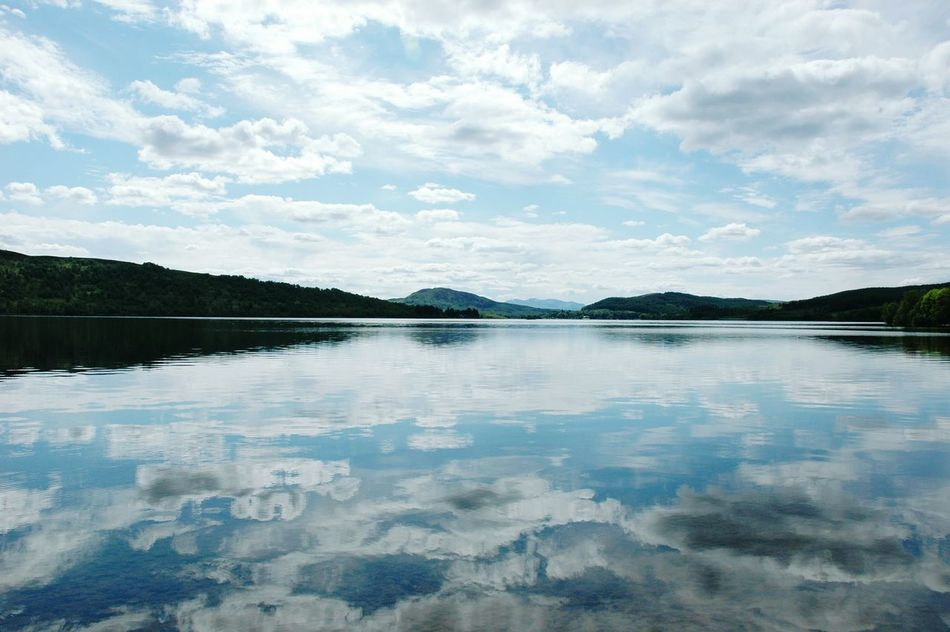 Reflection Water Blue Lake Sky Landscape Beauty In Nature Cloud - Sky Nature Scenics Outdoors Tranquility No People Day Mountain Scotland Travel Destinations Miles Away Loch  LochLomond EyeEmNewHere