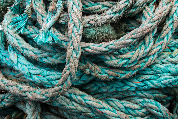 Malta Travel Travel Photography Background Background Photography Background Texture Backgrounds Close-up Day Fishing Industry Full Frame High Angle View Knit No People Outdoors Rope Schiffstau Shipping  Strength String Tau Textured  Tied Knot Turquoise Colored Twisted