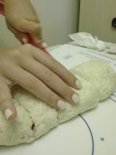 Human Hand Human Finger Preparation  Bakery Nail Polish Nail Simplicity Tupperware Natural Home The Week On EyeEm