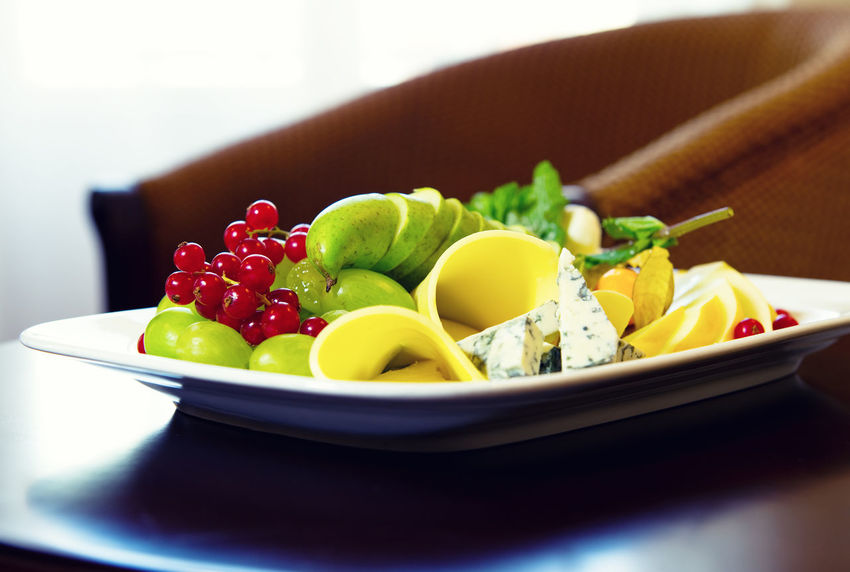 Various types of cheese, grapes and redcurrant closeup composition Cutting Redcurrant Snack Appetizer Appetizers Bowl Brie Brie Cheese Cheese Close-up Delicacy Food Fruit Gourmet Grape Healthy Eating Indoors  Ingredient No People Nobody Pear Fruit Plate Platter Ready-to-eat Variation