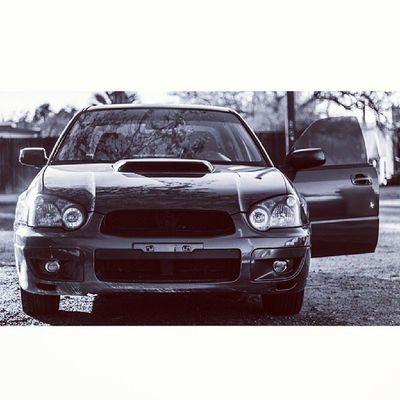 Subaru Impreza Wrx Wrb Blackandwhite TBT  Throwbackthursday