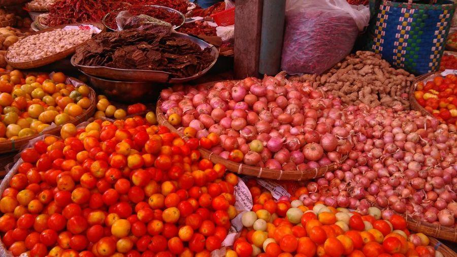 Market Vegetable Red Red Color Myanmar Myanmarphotos Burmese Market Tomato Tomatoes Vegetables Photo Vegetable Market Onion