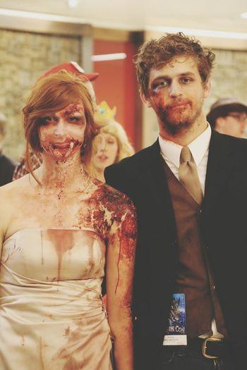 DragonCon Zombie Marriage