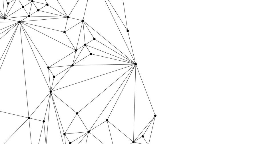Black connection lines on white background for technology concept, abstract illustration Business Futuristic Lines Abstract Architecture Blockchain Built Structure Clear Sky Complexity Connection Copy Space Cryptocurrency Data Day Design Desıgn Digital Financial Geometric Shape Illustration Investment Low Angle View Metal Nature Network No People Outdoors Pattern Power Line  Power Supply Sky Tall - High Technology White Background