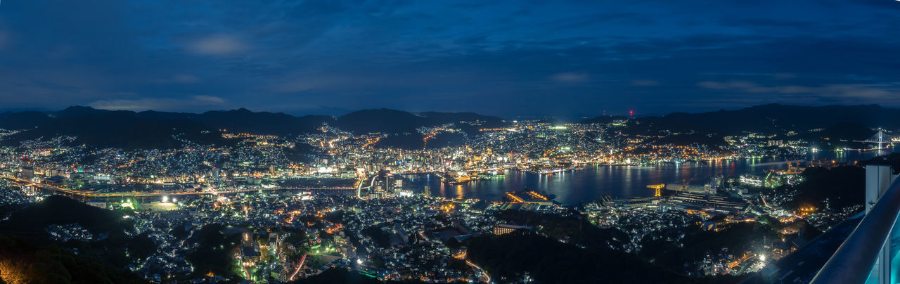 Nagasaki city view from Mt. Inata Japan Japan Photography Nagasaki Architecture Building Exterior Built Structure City Cityscape Illuminated Modern Night No People Outdoors Sky Travel Destinations Tree