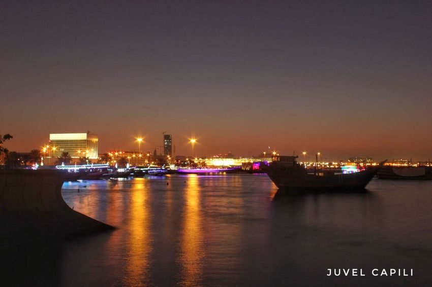 Illuminated Nautical Vessel Night Reflection Water Transportation Mode Of Transport Sea Sky Architecture Building Exterior No People Built Structure Travel Destinations City Outdoors Moored Harbor Beauty In Nature