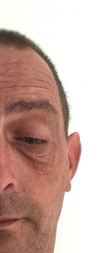 A little tear One Person Men Males  Headshot Adult Portrait Close-up