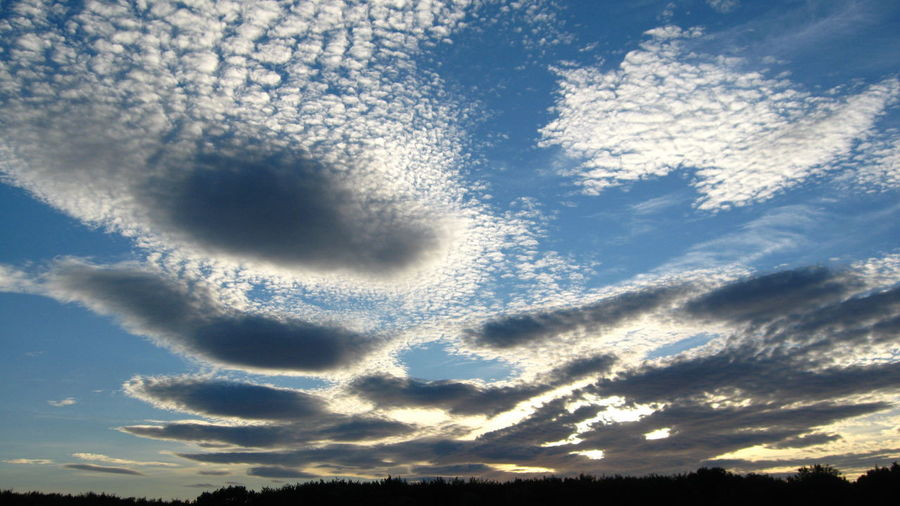 Skyscape 02 Beauty In Nature Blue Blue Sky Cloud - Sky Clouds Cloudscape Cotswold Cumulus Cloud Day Dramatic Dramatic Sky Idyllic Landscape Low Angle View Majestic Nature Non Urban Scene Outdoors Rural Landscape Rural Scene Sky Sky And Clouds Sunset The Cotswolds Weather