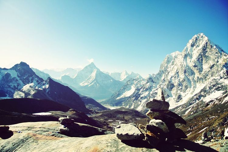 Moon walk Travel Photography Mountains Landscape Himalayas Mountain View Mountain Range Mountains And Sky Hiking Hikingadventures Trekking Adventure Infinity EyeEm Bestsellers Lost In The Landscape