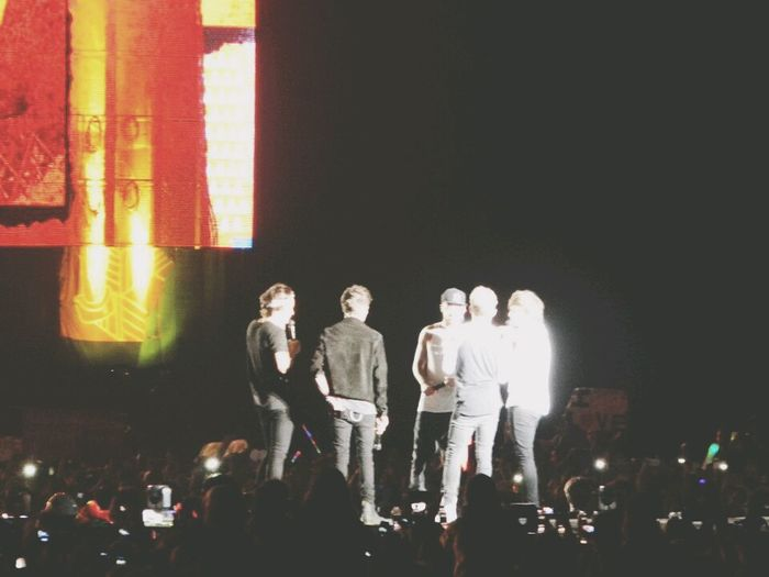 7 months of this, I miss them so much Where We Are Tour One Direction Idols 4 De Mayo