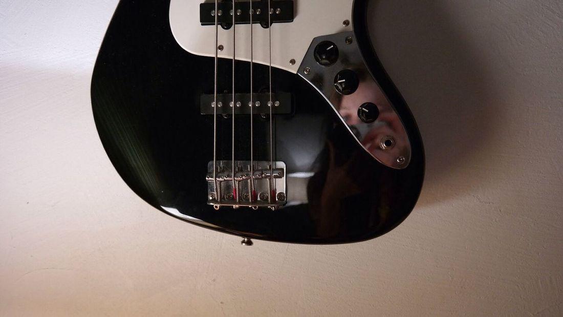Guitar Music Black & White Minimalism