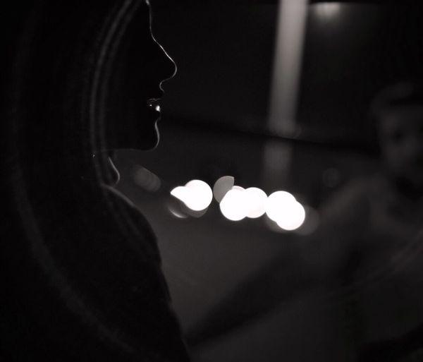 Light And Shadow Bokeh Photography Bokeh Blackandwhite