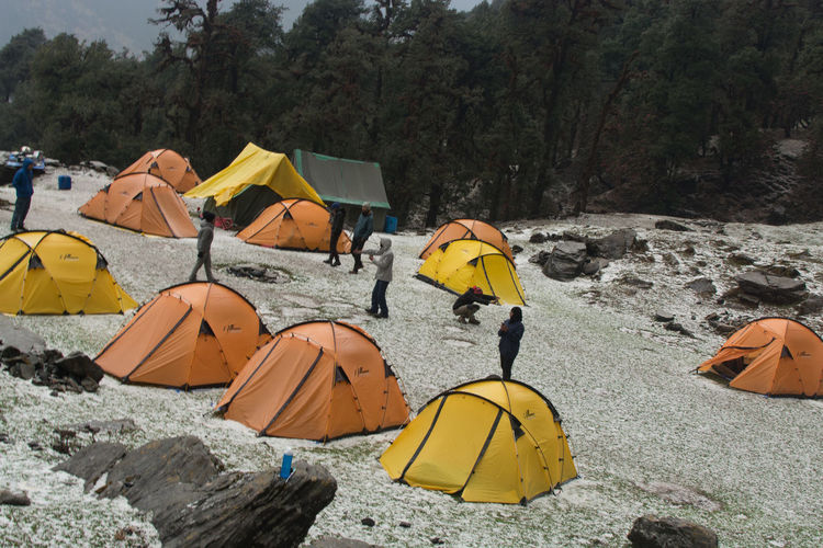 EyeEm Selects Unedited Early Morning After Hailstorm Waking Up To This  Chopta