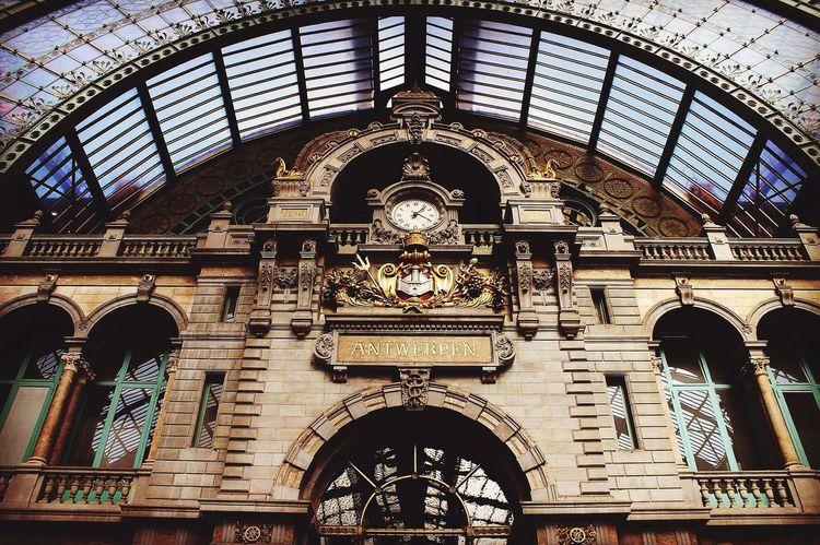 Architecture Centraal Station Antwerpen Antwerpen, Belgium Antwerpen Centraal Indoors