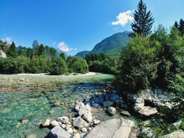 Bovec Slovenia River Nature Kranjska Gora