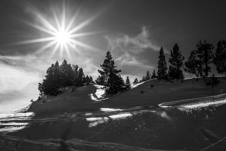 Beauty In Nature Tranquility Landscape Baqueira Winter Val D'Aran Freestyle Freeride Valley White Wintertime Landscape_Collection Landscapes Landscape_photography Snowboarding Mountain Snow Adventure Politics And Government The Great Outdoors - 2017 EyeEm Awards Black And White Friday
