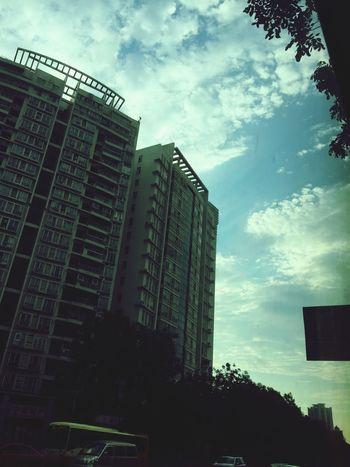 Hello World Taking Photos Relaxing Enjoying Life Sky 😄