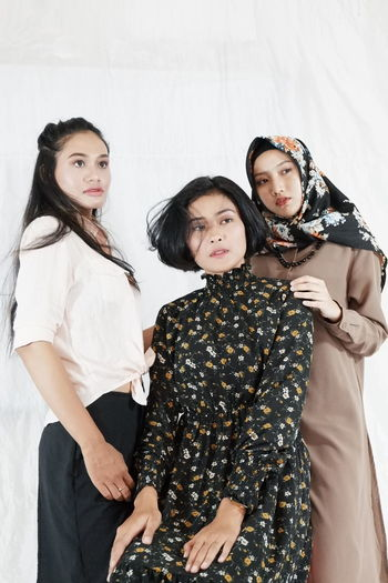 Three People People Friendship Girls Indoors  Fashion Togetherness Day Adult Portrait