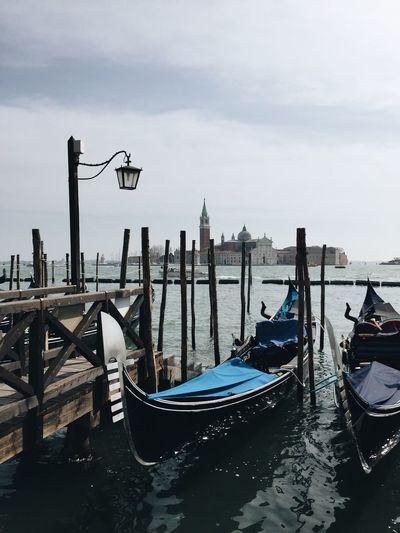 Venice Venezia Italy Sea Boats First Eyeem Photo Gondola Harbor Harbour