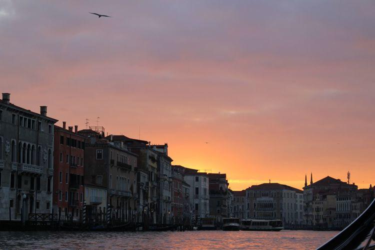 Sunset Sky Architecture Outdoors Venice, Italy Italia Veneza Canon Colour Your Horizn Visual Creativity