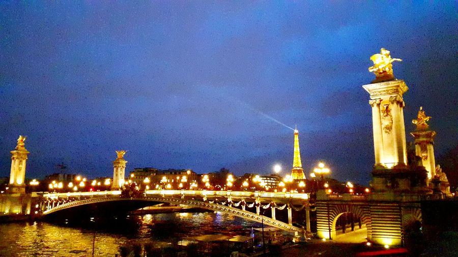 Postcardview Traveling Tour Eiffel The Eiffel Tower ParisByNight Paris France Bridge River In The City River In Paris Learn & Shoot: After Dark