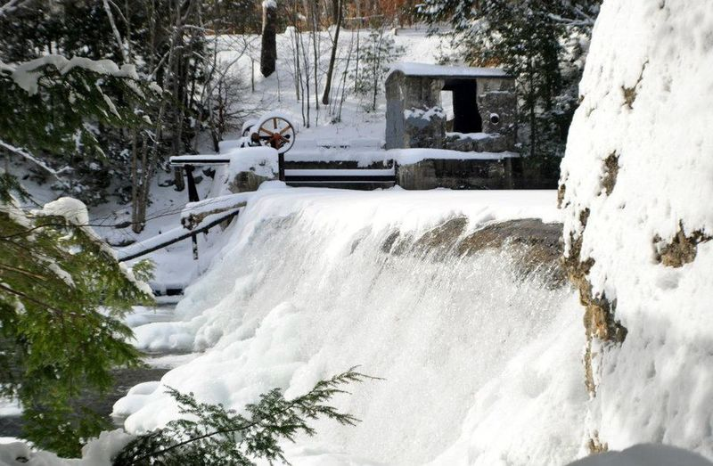 up north Architecture Beauty In Nature Built Structure Cold Temperature Day Flowing Flowing Water Frozen Motion Nature Outdoors People Plant Scenics - Nature Snow Sport Tree Water Waterfall White Color Winter