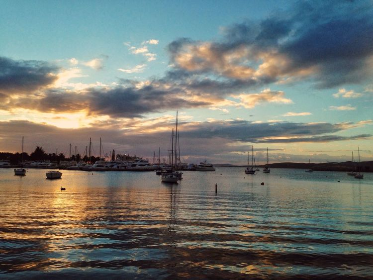 Sunset Sunset_collection Boats Caribbean Clouds EyeEm Best Shots Puerto Rico