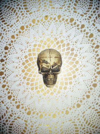Skull Lace Artistic Creative Photography David Tupponce Tupponce Photography Doilie