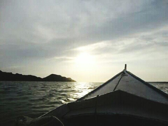 lago de Maracaibo Sunset Tranquility Nature Beach Beauty In Nature Horizon Over Water Water Day