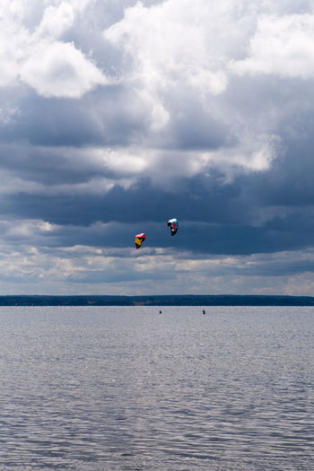 Adventure Beauty In Nature Buoy Cloud Cloud - Sky Cloudy Poland Idyllic Kitesurfing Nature Ocean Outdoors Remote Rippled Scenics Sea Sky Tranquil Scene Tranquility Water Waterfront Weather Jastarnia Pomorskie