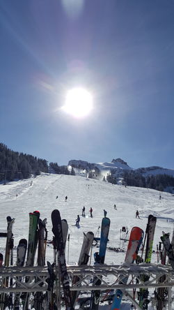 Piste Skiing Mellau Austria Snow Natur Pur The Places I've Been Today Landscape Nature How's The Weather Today? Nice View
